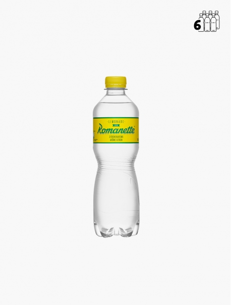 Romanette Citron PET 50 cl P6 - Pack 6
