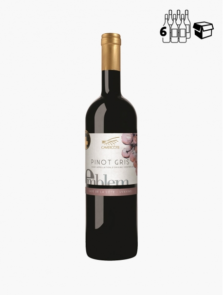 Emblem Pinot Gris VP 75 cl P6 - Carton 6