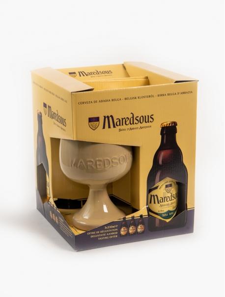 Maredsous Coffret VP 33 cl P3 - Coffret 1 verre
