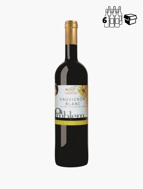 Emblem Sauvignon Blanc VP 75 cl P6 - Carton 6