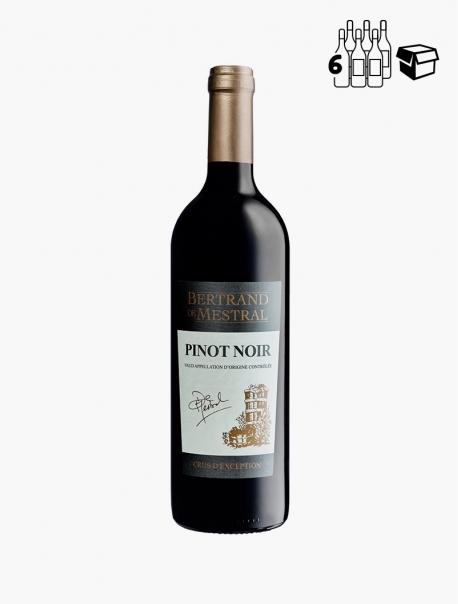 B Mestral Pinot Noir VP 75 cl P6 - Carton 6