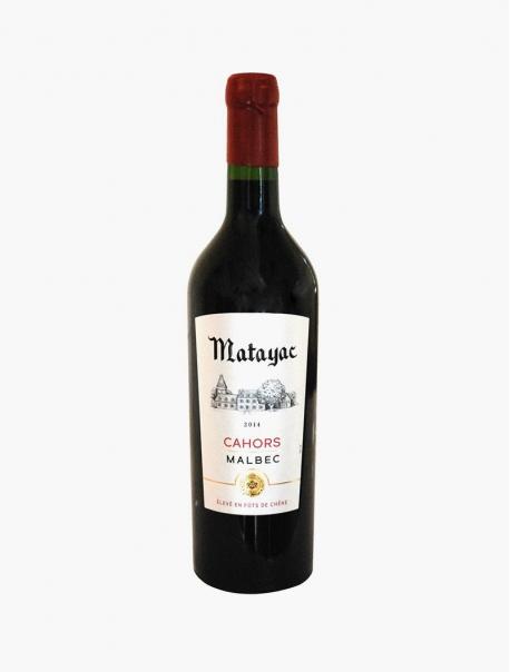 Matayac Cahors VP 75 cl U - Pièce