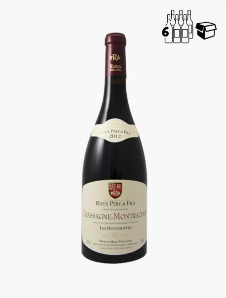 Mouchottes Chassagne-Montrachet VP 75 cl P6 - Carton 6