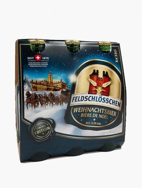 Feldschl Bière de Noël VP 33 cl P6 - Pack 6