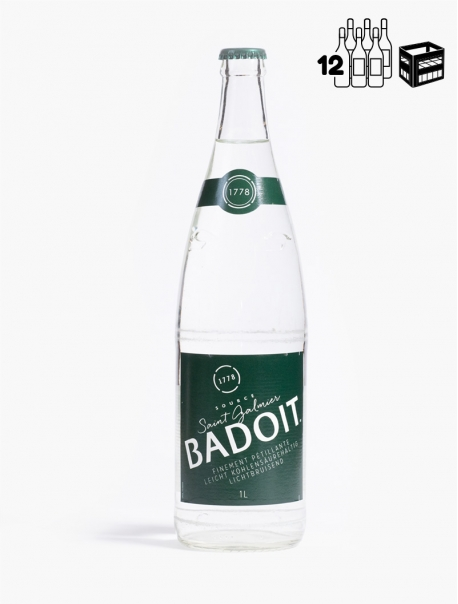 Badoit VC 100 cl C12 - Caisse 12