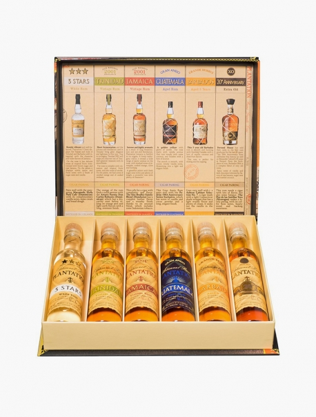 Rhum Plantation Cigar Box Coffret VP 10 cl P6