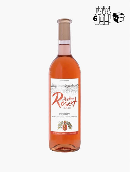 Martine Roset Rosé VP 75 cl P6