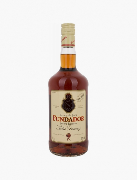 Brandy de Jerez Fundador VP 100 cl U