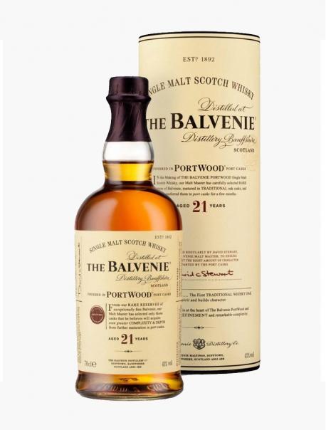 Whisky Balvenie 21 ans VP 70 cl U - Pièce