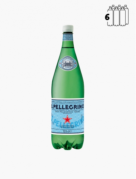 San Pellegrino PET 125 cl P6 - Pack 6