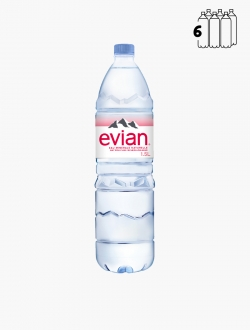 Evian PET 150 cl P6 - Pack 6