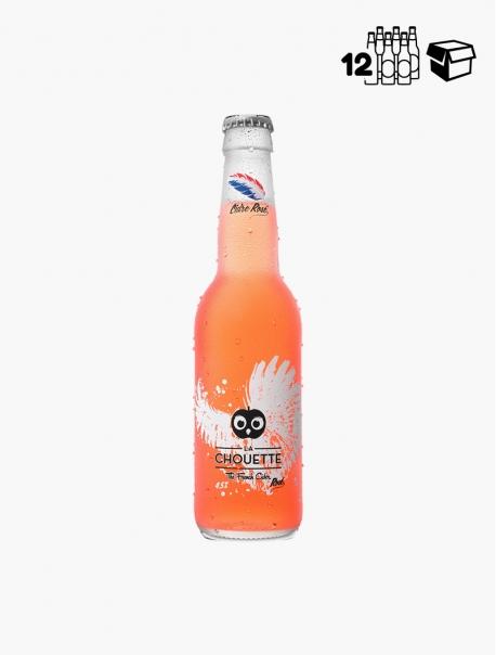 Cidre La Chouette Rosé VP 33 cl P12 - Pièce