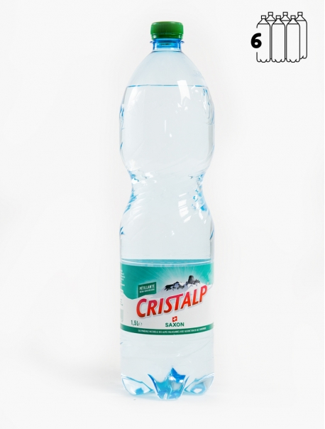 Cristalp Gaz PET 150 cl P6 - Pack 6
