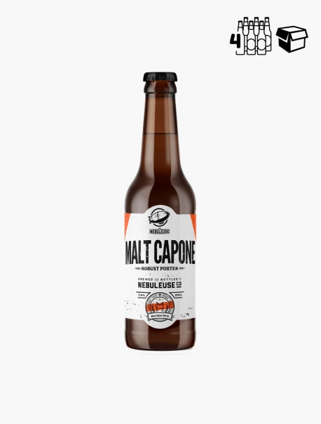 Nébuleuse Malt Capone VP 33 cl P4 - Pack 4