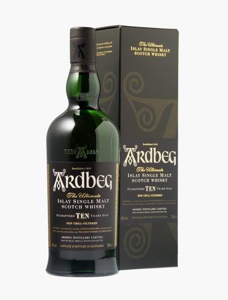 Whisky Ardbeg 10 ans VP 70 cl U