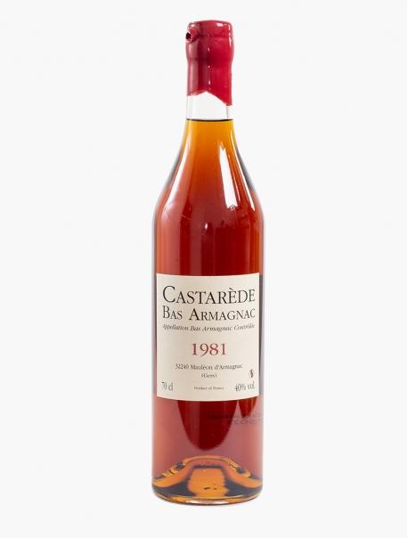 Armagnac Bas Castarède 1981 VP 70 cl U
