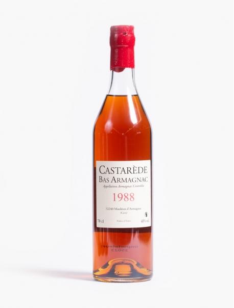 Armagnac Bas Castarède 1988 VP 70 cl U