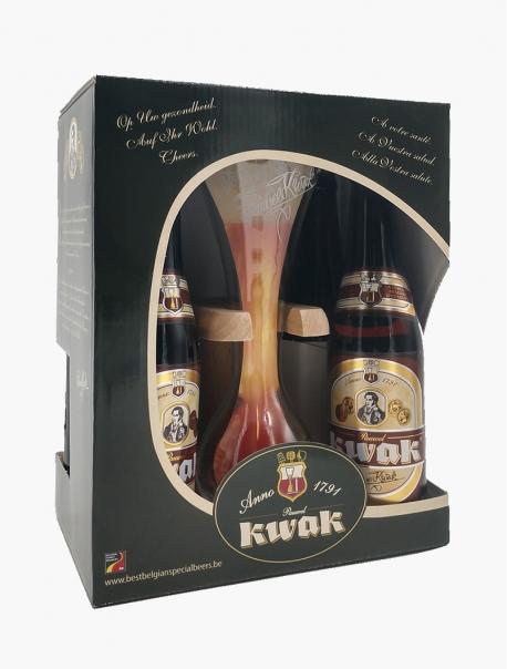 Kwak La bière du Cocher Coffret VP 33 cl P4 - Coffret 1 verre