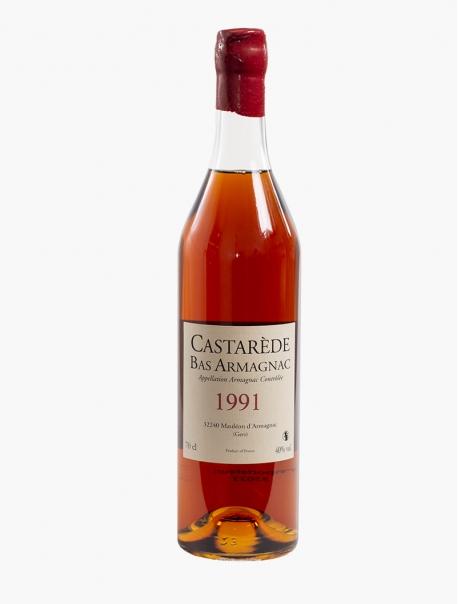 Armagnac Bas Castarède 1991 VP 70 cl U