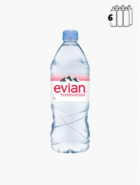 Evian PET 100 cl P6 - Pack 6