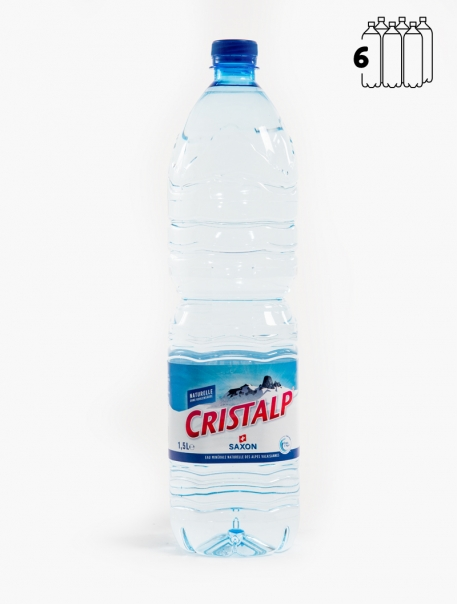 Cristalp Nature PET 150 cl P6 - Pack 6