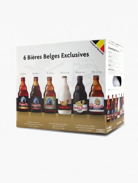 Coffret Bières Belges Exclusives VP 33 cl P6