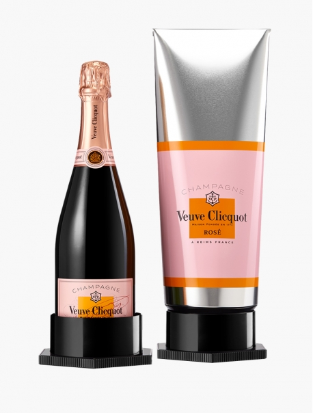 Veuve Clicquot Brut Rosé Édition Gouache VP 75 cl - Coffret