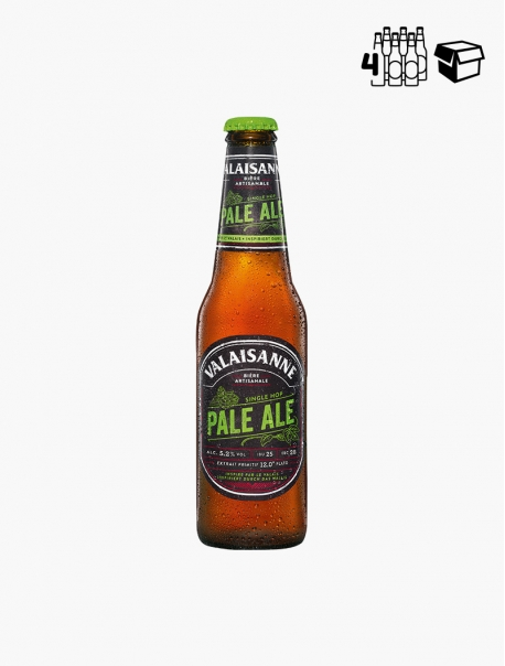 Valaisanne Pale Ale VP 33 cl P4 - Pack 4