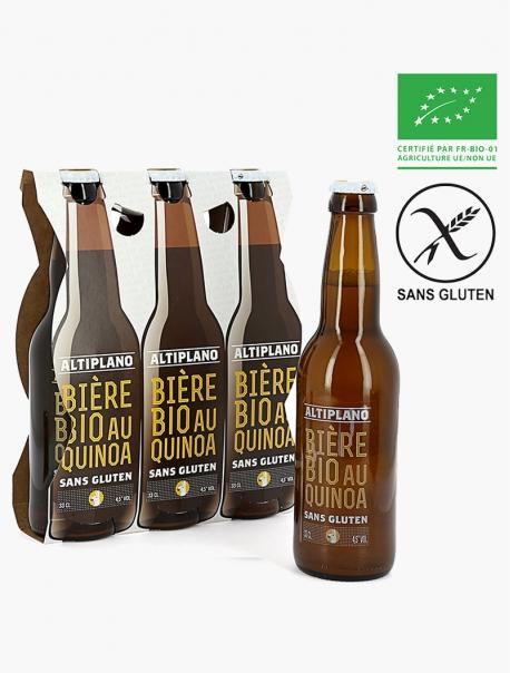 Altiplano Bière au Quinoa Sans Gluten VP 33 cl P3