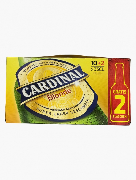 Cardinal Blonde VP 33 cl P12 - Pack 12