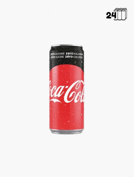 Coca-Cola Zéro CNT 33 cl P24 - Pack 24