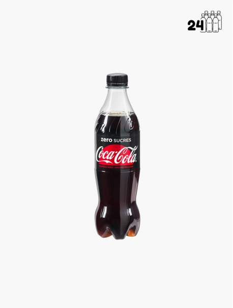 Coca-Cola Zéro PET 45 cl P24 - Pack 24