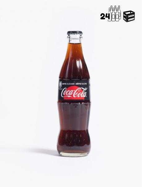 Coca-Cola Zéro VC 33 cl C24 - Caisse 24