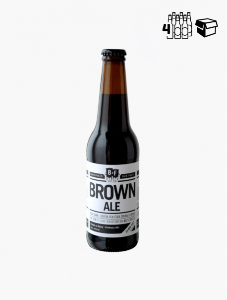 B2F Brown Ale VP 33 cl P4 - Pack 4