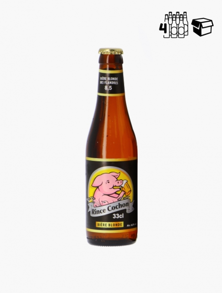 Rince Cochon Blonde VP 33 cl P4 - Pack 4
