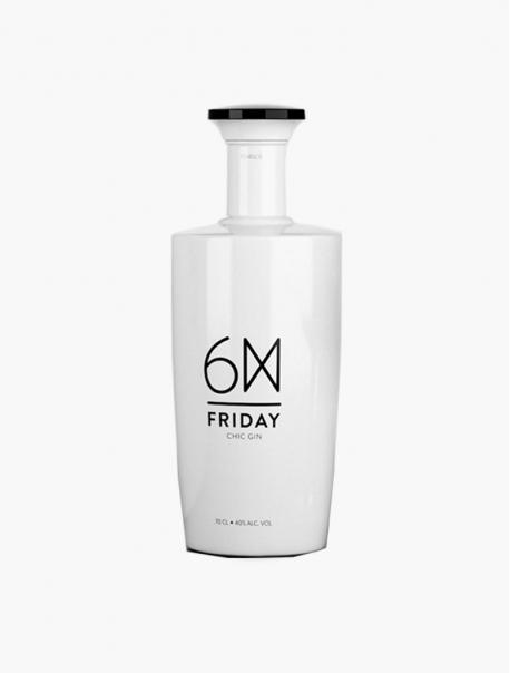 Gin 6M Fridray Chic Gin VP 70 cl U - Pièce
