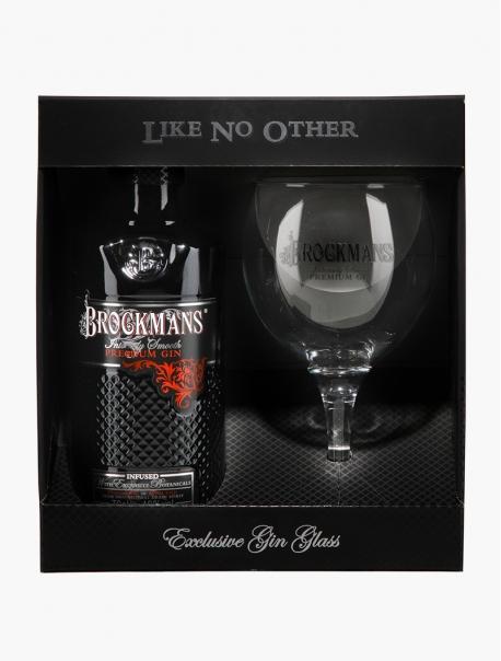 Gin Brockmans VP 70 cl + 1 Verre U - Coffret 1 verre