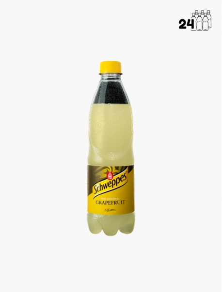Schweppes Grapefruit PET 50 cl P24 - Pack 24