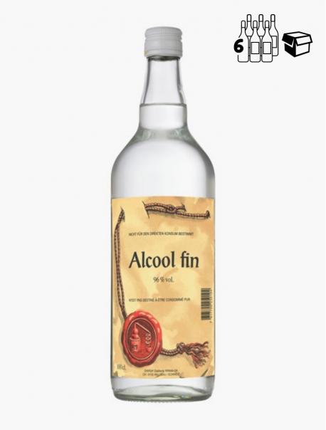 Alcool Fin 96° VP 100 cl P6 - Pièce