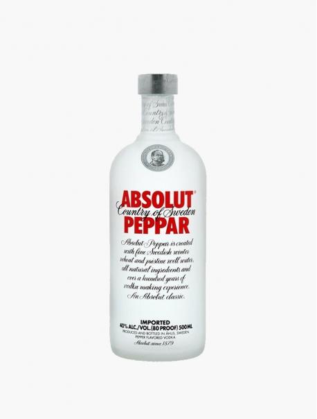 Vodka Absolut Poivre VP 50 cl U - Pièce