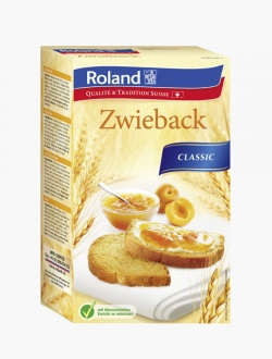 Roland Zwieback Classic 250g - Pièce