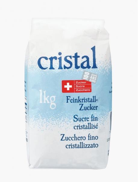 Sucre cristal fin 1kg - Pièce